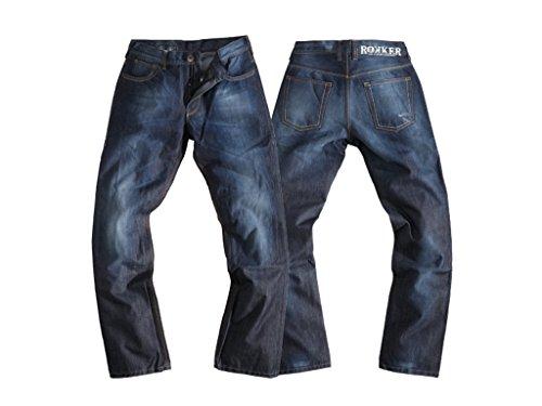 Jeans ROKKER Revolution incl Protektorenset Lang