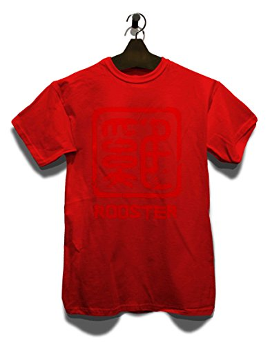 chinese-signs-rooster-t-shirt-rot-red-2xl