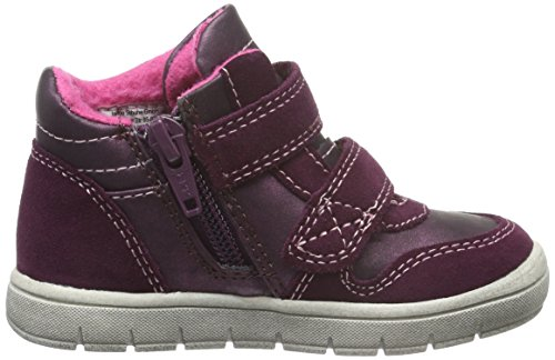 Indigo Mädchen Sneaker Low-Top Rot (810 PURPLE VL)