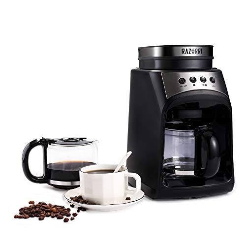 Cafetera Razorri RCGE600A | Cafetera filtro molinillo