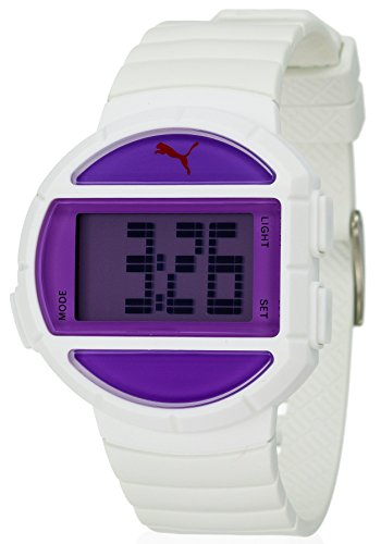 Puma Time Women's Quartz Watch with Silver Half Time S Digital Quartz Plastic PU910892002