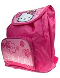 Hello Kitty Rucksack mit Vortasche und Zugband Tasche HK11711 preisvergleich bei kinderzimmerdekopreise.eu