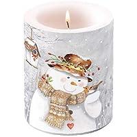 Stumpenkerze Hahn Kukeleku Kerze