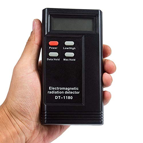 YUEWO Elektromagnetische Strahlungsmelder DT-1180 Dosimeter Tester EMF-Meter Heizkörpersensor Indikator Jagdgerät Detektor Emf-tester