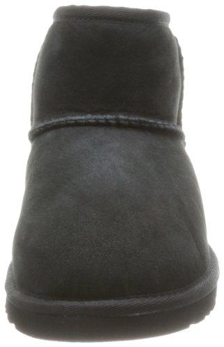 UGG Mini Classic, Bottes Classiques Mixte Enfant Noir (Nero)
