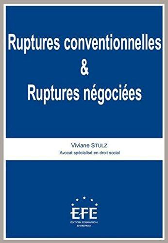 Ruptures conventionnelles et ruptures négociées