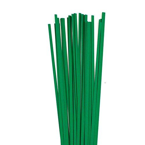 Karen Marie Klip: Quilling Papierstreifen Christmas Green 5x450mm, 120 g/m2, 80 Streifen -