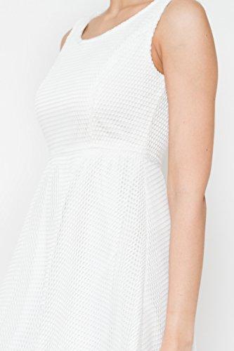 Tantra Damen Kleider Solid Dress Weiß