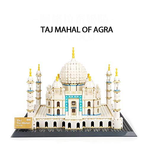 Bluerain Kleine partikel bausteine taj Mahal gebäude Modell mädchen Spielzeug gebäude Spielzeug Set geeignet für Kinder ab 6 Jahren 1505 stücke