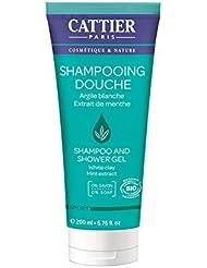 Cattier - Paris - Shampoing Douche 200ML Lot de 2