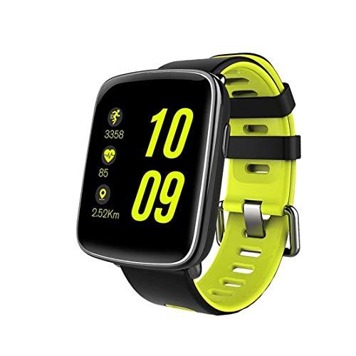 Ejolg IP68 wasserdicht Fitness Tracker Mens Womens Smart Watch, mit Herzfrequenz, Schlafüberwachung, Schrittzähler Schrittzähler, etc, Unterstützung mehrerer Landessprachen,A