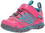 KEEN Chandler CNX, Chaussures de Randonnée Basses garçon, Rose Bright Pink/Lake Green, 22 EU