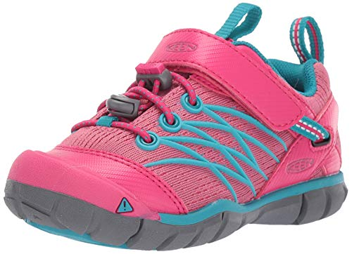 KEEN Kinder Schuhe Chandler CNX Youth Bright Pink/Lake Green 39 - Lake Green
