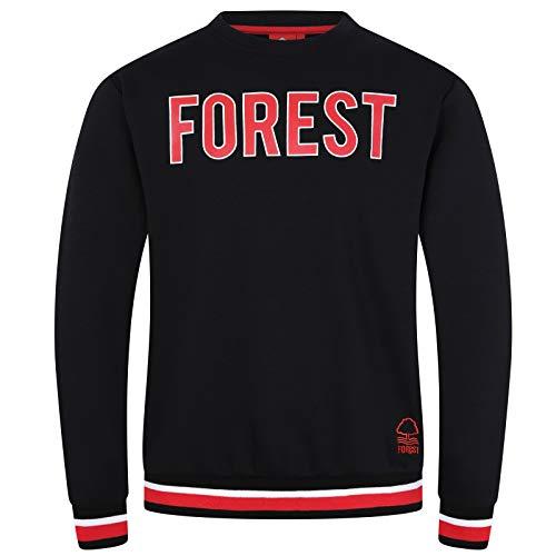 Nottingham Forest FC - Herren Sweatshirt mit Vereinswappen - Offizielles Merchandise - Geschenk für Fußballfans - L -