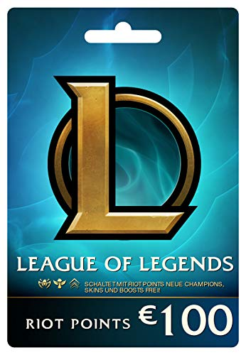 League of Legends €100 Prepaid Gift Card (15000 Riot Points) (Download Amazon Gift Card)