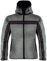 Dale of Norway Jacke Telemark - Chaqueta técnica para hombre, color gris, talla XL