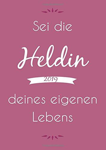 dicker TageBuch Kalender 2019 -