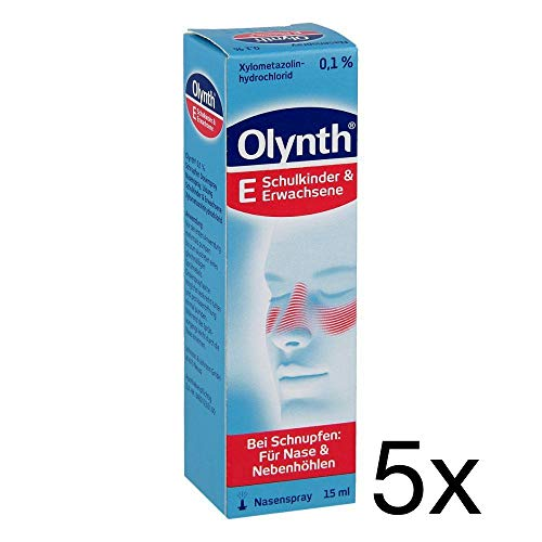 Olynth 0,1{1e85bd8531ec9714c9ed290ef67ac980f1135e7146aa42ce5b78f8a200bd6ef6} 5x15ml Sparpack inklusive einer Handcreme von vitenda.de