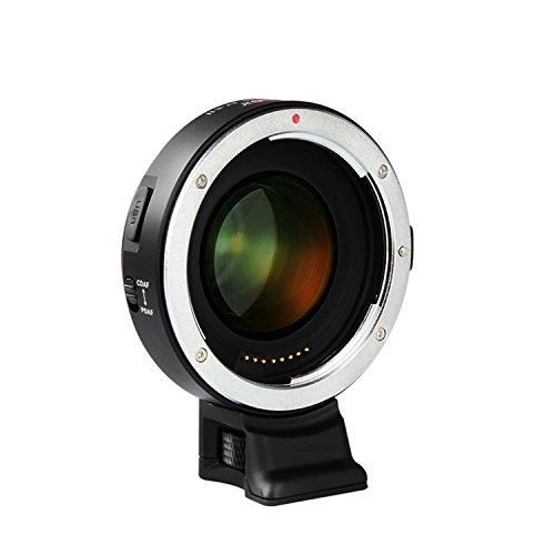 VILTROX® EF-E II F Verstärker Objektiv Adapter konverter für Canon EF-Objektiv auf Sony A7 A9 A7R A7S A6300 A6500, Unterstützung CDAF PDAF Fokus / Autofokus / Vergrößern der - Objektiv Verstärker