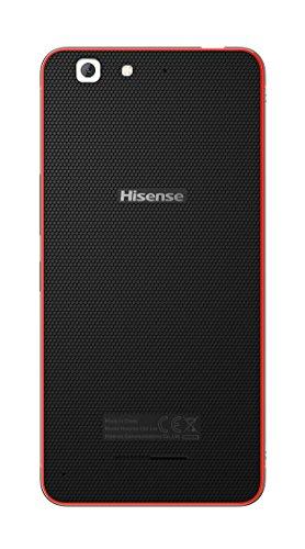 "Hisense C30 Rock Lite - Smartphone de 5"" (4G, Memoria Interna de 16 GB, 2 GB RAM, cámara de 8 MP, Dual Sim), Color Rojo"