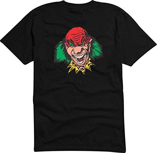 T-Shirt Herren hypnotischen Monster Digital