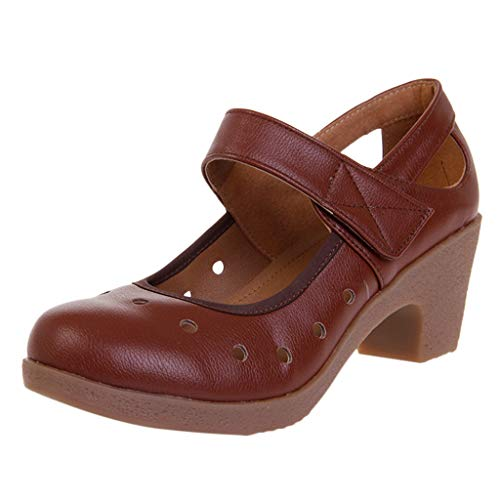 34d3f101b TOPKEAL Sandales Femme, Printemps Été Chaussures Semelles Souples  Chaussures de Danse Occasionnels Modernes Respirantes à