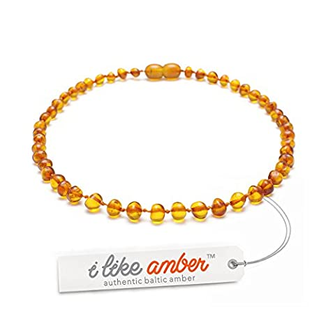 Premium Amber Necklaces - Baltic Amber Necklace - Highest Quality Certified Genuine Baltic Amber Beads - various sizes from 29 to 40 cm - 100 Days 100 % Satisfaction, Money-Back Guarantee! /