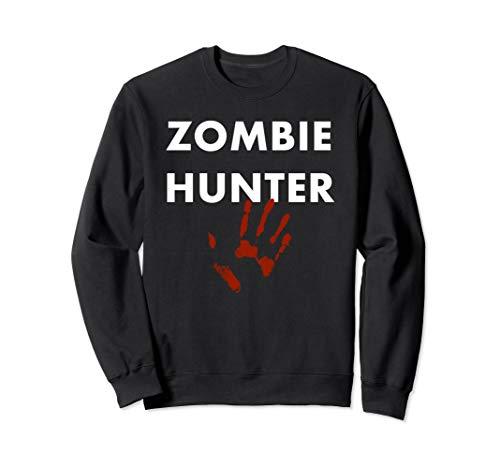 Zombie Hunter Kostüm - Zombie Hunter Halloween Kostüm Sweatshirt