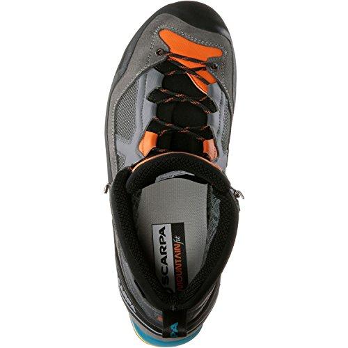 Herren Trekkingschuhe Rebel Lite GTX grau/orange