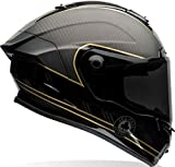 Bell 7069592 Caschi Moto Racestar Speed Control, Nero Opaco/Oro, M