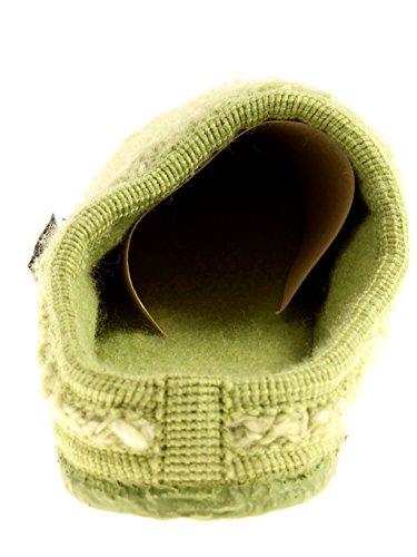 Giesswein Hausschuhe Damen Schlappen Bernstein Wolle warm Pantoffeln EU 38 Palme