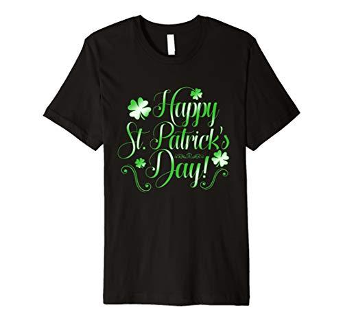 Grün St. Paddys Day Kleeblatt Glücksblatt Geschenk ()