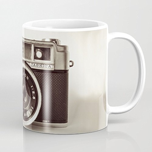 Vintage camera bianco tazza di caffè 311,8gram