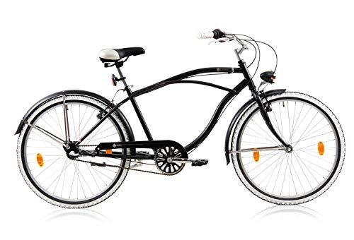 tretwerk DIREKT gute Räder Baron Herren-Beachcruiser 26 Zoll, Herren-Fahrrad 3-Gang Nabenschaltung