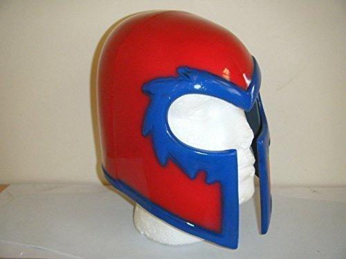 Magneto Helm Cosplay Deluxe Halloween Monster Kopfmaske X-Men (Magneto Kostüm)