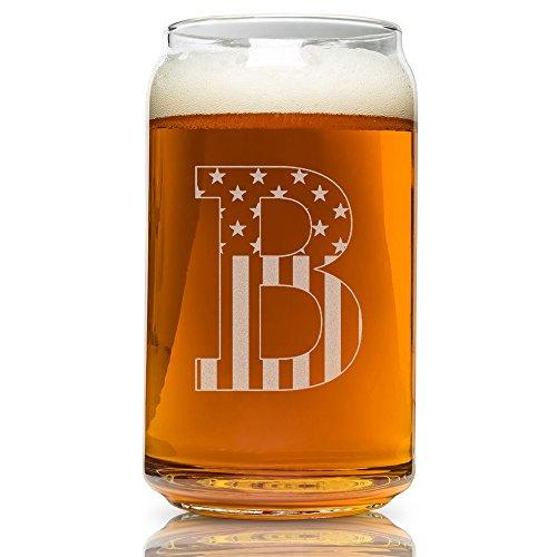 r kann glass-usa Flagge B-Monogram ()