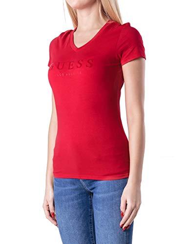 Guess T-Shirt W84I59 K7WC0 G5A5, Farbe Rot, Gr. L