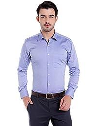Donear NXG Mens Formal Shirt_SHIRT-C112-ROYALBLUE