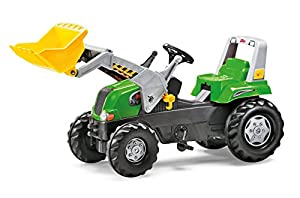 rolly toys rollyJunior RT Pedal Tractor - Juguetes de Montar (1420 mm, 530 mm, 620 mm, 11,2 kg, 1028 mm, 404 mm)