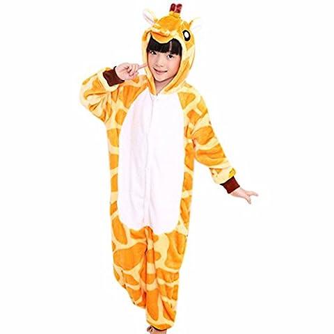 Pyjama Grenouillere Girafe - QIYUN.Z Bande Dessinee Hanches Girafe Queue Enfant