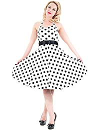 Hearts and Roses Kleid White Betty Booh Dot