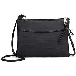 KIMODO Neue Handtasche Damen Umhängetasche Schultertasche Retro Tasche Elegant Schwarz Pink Grün Frauen Mode 2018