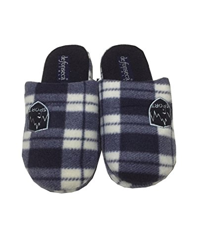 DE FONSECA pantofole ciabatte invernali da uomo mod. M227 Blu