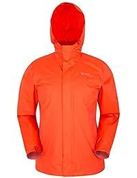 85d7fb3b9afc33 Mountain Warehouse Torrent Jacke für Herren - Wasserfeste Regenjacke,  Leichter Mantel mit versiegelten Nähten,…