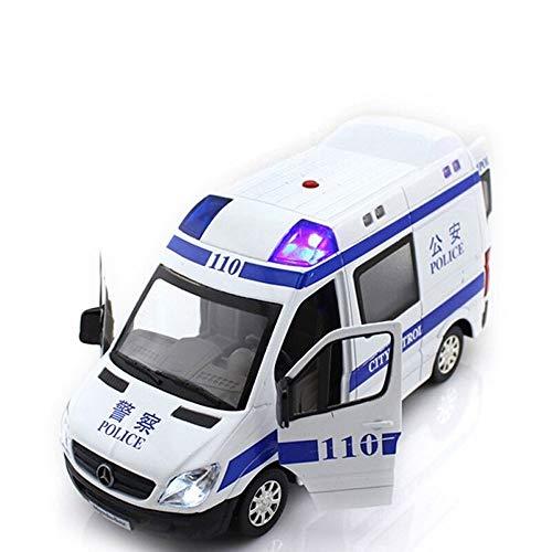 Luccky Leggero in lega di simulazione parti in plastica Modello di auto può aprire la porta della porta Giocattoli per bambini Ragazzo giocattolo con luci Forte tirare indietro Toy Car Office Home Dec