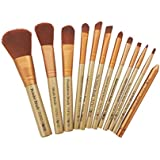 Puna Store 12 Piece Makeup Brush Set (Beige)