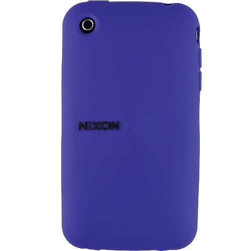 Nixon Wrap Wordmark iPhone 3G Case - Purple - One Size - Iphone 3g-wrap