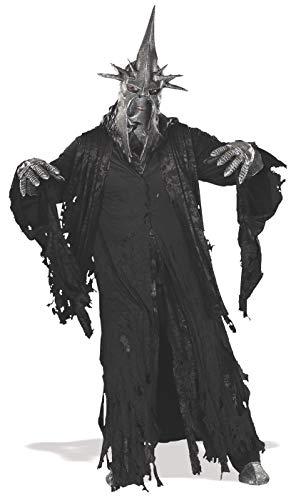 Rubie's Hexenkönig von Angmar Herr der Ringe-Kostüm Halloween schwarz Einheitsgröße