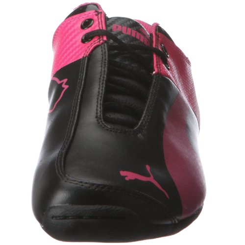 Puma JR FUT C M1, Baskets mode garçon Noir-TR-L4-271