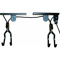 Top 66321 Bike-Lift - Soporte de techo para bicicletas (99 x 4 x 8 cm), color negro